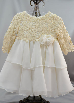 Margarita Girls Baptismal Dress