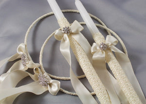 Forever Wedding Crowns and Candles