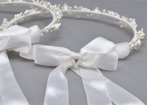 Love is You Wedding Crowns and Candles