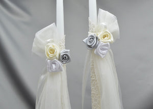 Falling in Love Wedding Candles