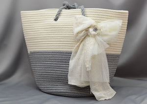 Grace Baptism Tote