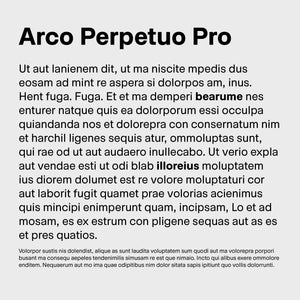 Arco Perpetuo Pro