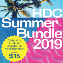 Load image into Gallery viewer, HDC Summer Bundle 2019