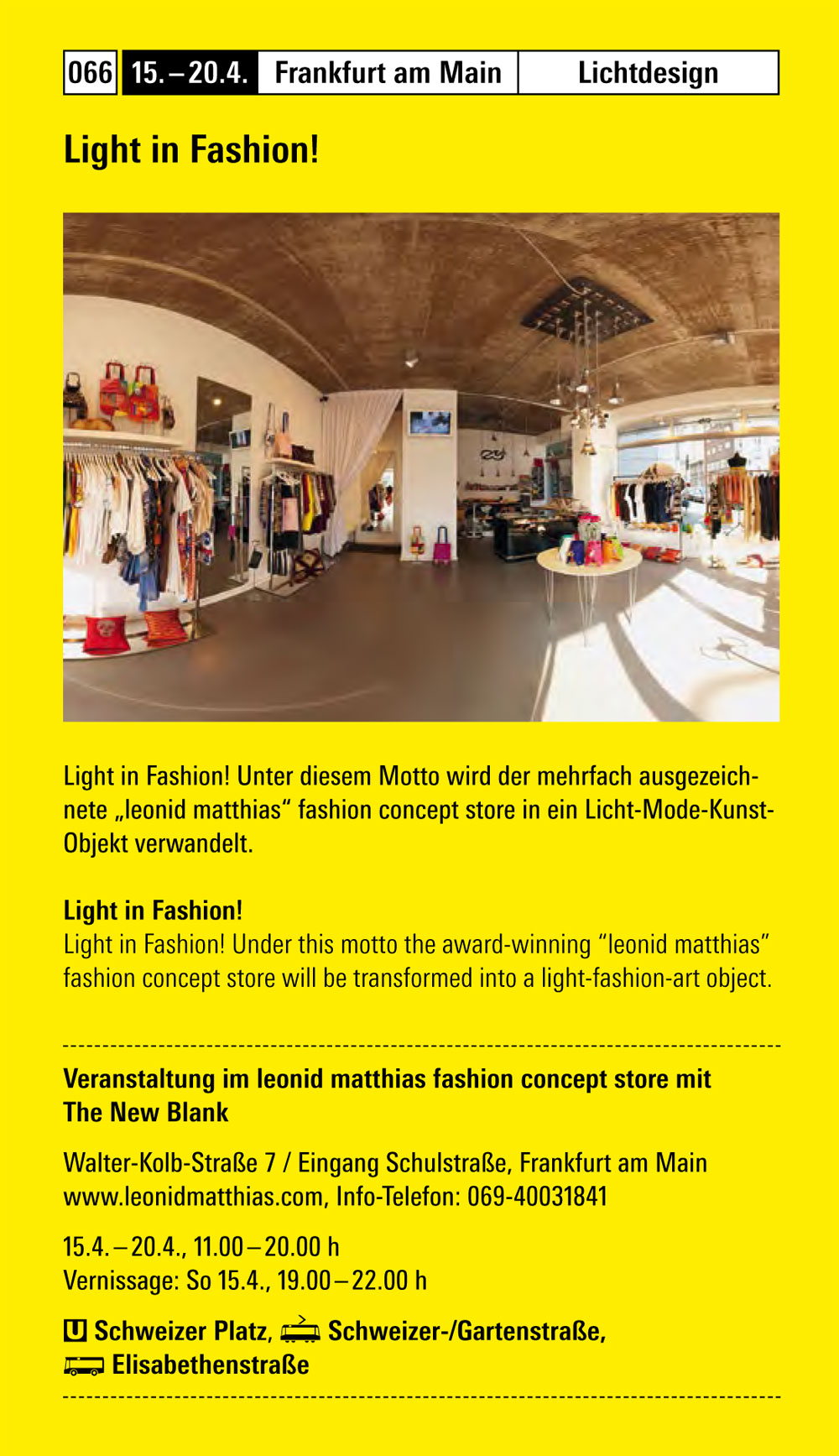 Light in Fashion