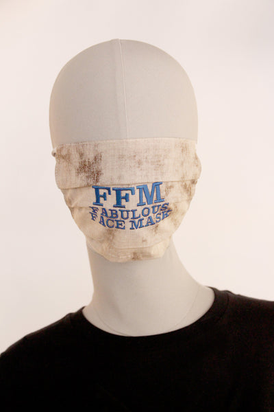 BMN-Maske Fashion Edition FFMask hell/braun