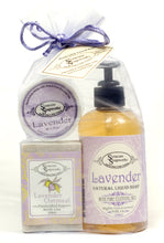 Load image into Gallery viewer, Liquid Soap Bar Soap & Butter Gift Set
