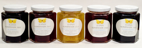 Elaine's Homemade Jam - Simply really great jam with a short ingredient list!  9oz jars
