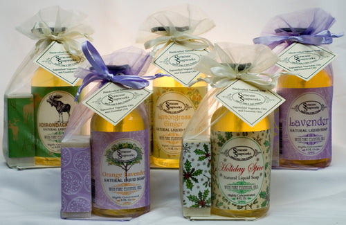 Soap Bar & Liquid Soap Gift Set