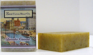 Lavender oatmeal soap bar