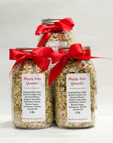 Hippy Love Granola 1Lb Jar
