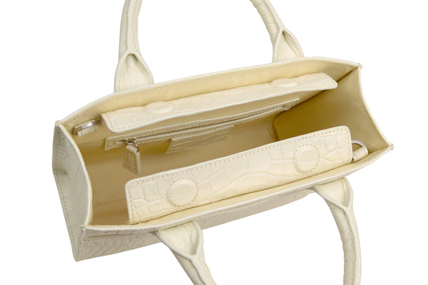 Mini Everyday Tote in Eggshell