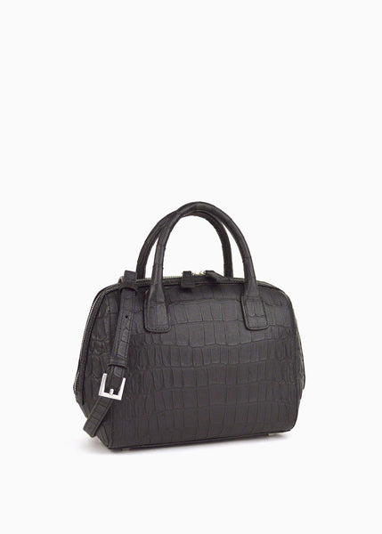 Mini Doctor Bag in Black Nirvana