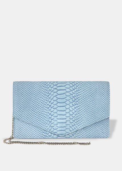 Envelope Clutch in Lapis