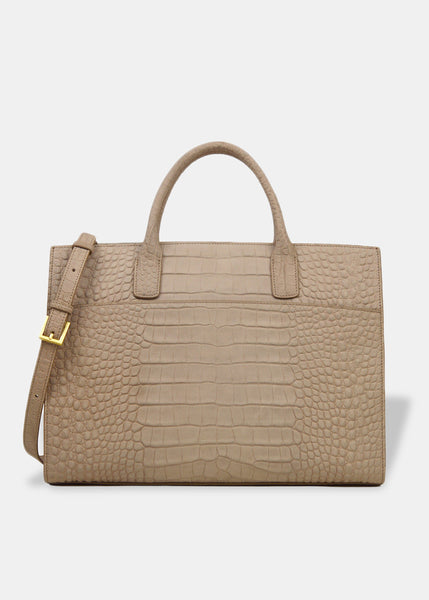Oversized EverydatyTote in Beige