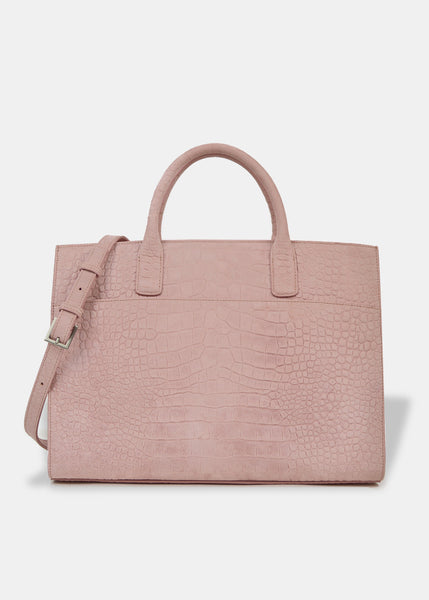 OVERSIZED EVERYDAY TOTE IN BLUSH