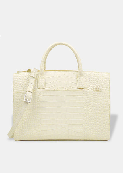 Oversized Everyday Tote in Eggshell