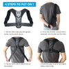 Image of Adjustable Back Posture Corrector