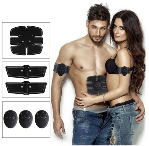 Get the Body You Love in record time with this Abdominal machine - electric muscle stimulator ABS EMS Fitness Trainer.