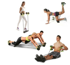 Butt and Abs Core Trainer Equipment helps you to get in shape with only 10 minutes of workout per day, at home, office or outdoors.