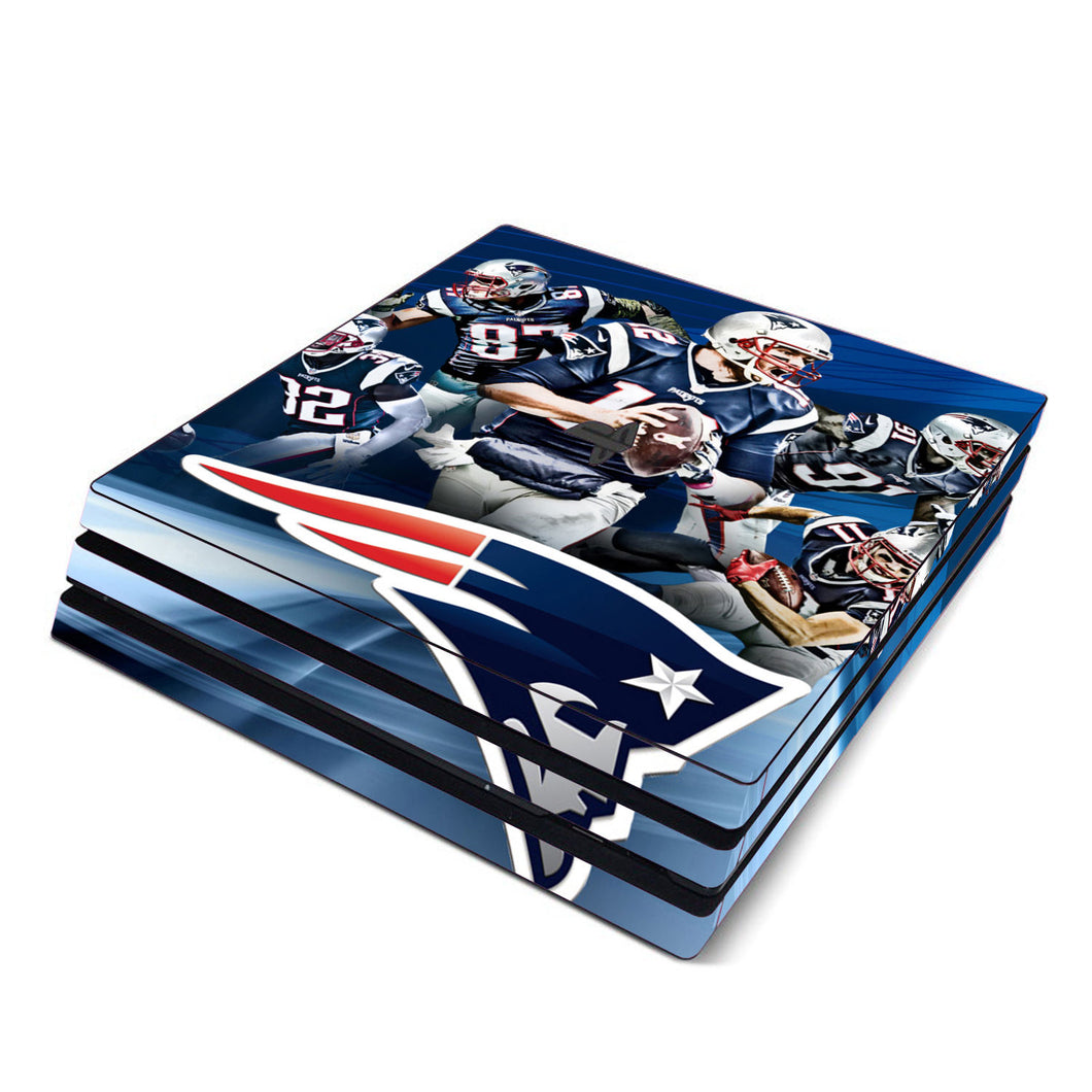 Super Bowl Patriots PS4 Sticker - Tom Brady Playstation 4 sticker