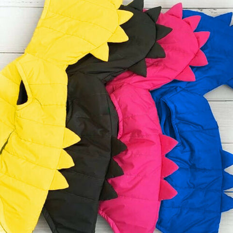 Rawr Dinosaur Sleeveless Jacket (Gilet)