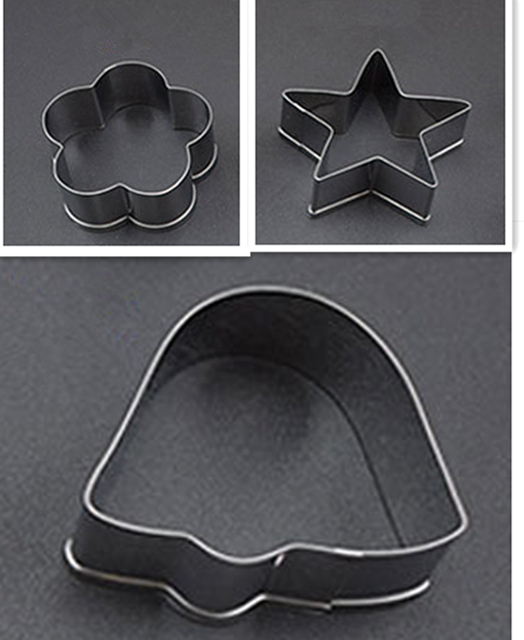 Stainless Steel Cookies / Biscuit Shape Cutter (3 Pcs.)