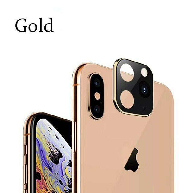 Luxury Metal Alumium Camera Lens (Chang Your iPhoneX, XS XR Max into iPhone 11 Pro)