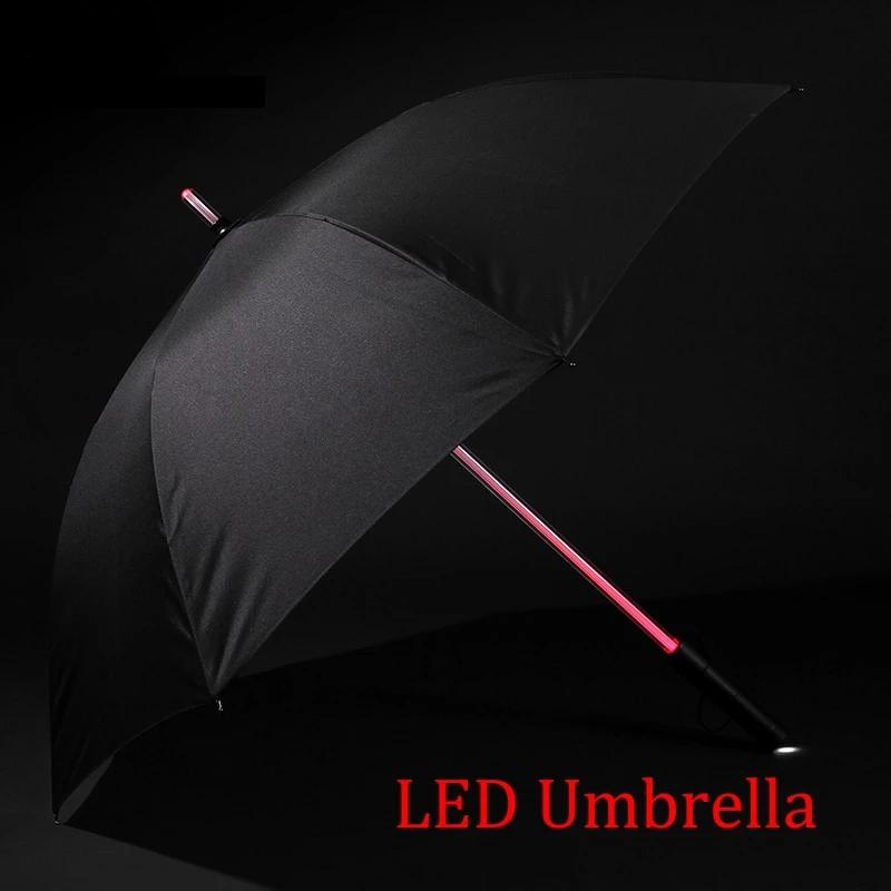 7 colors LED umbrella with flashlight. Great product!