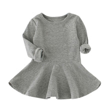 Load image into Gallery viewer, Baby Girls Long Sleeve Casual Toddler Kids Dress