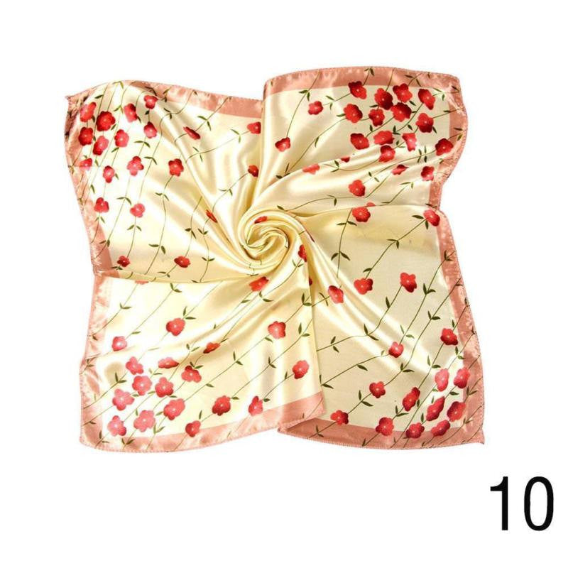 New Fashion Autumn and Winter Small Silk Scarf