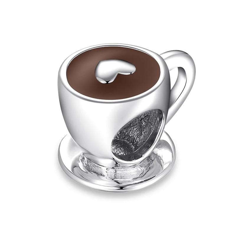 Lucky Silver Charm (Coffee Cup)