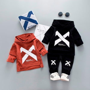270959f94 2019 Spring Children Toddler Clothing Baby Boys Girls Clothes Suit Infant Tracksuit  Kids Sports Hooded Sweater Pants 2pcs/Sets
