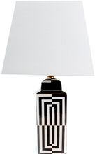 Darcy Lamp, Black White