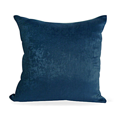 Indigo Plush Cushion Cover