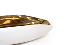 Alessi Plate, Gold White