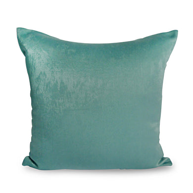 Turquoise Plush Cushion Cover