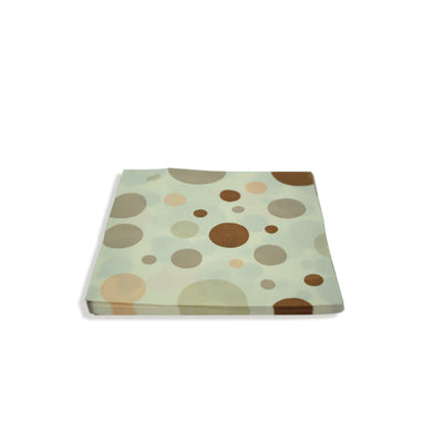 Paper Napkins Brown Polka Dots Pack of 3