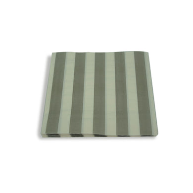 Paper Napkins Silver Stripes. Pack of 3