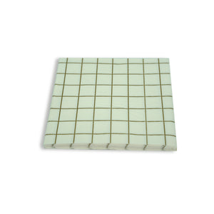 Paper Napkins Grid design. Pack of 3
