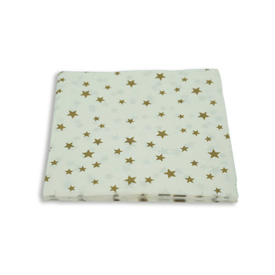 Paper Napkins Stars design. Pack of 3