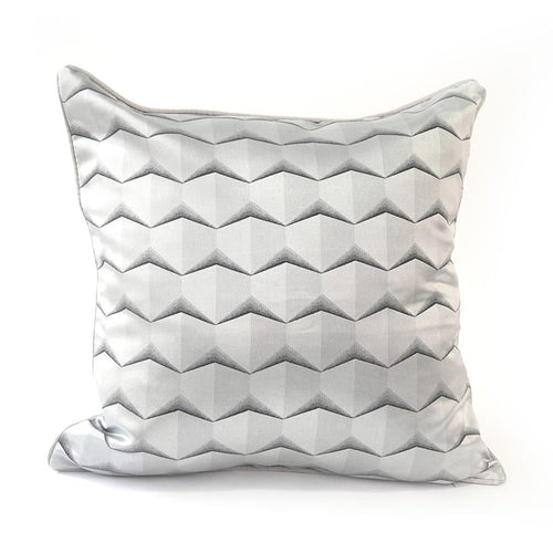 Fullerton Cushion Cover, Silver