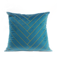 Gabrielle Cushion Cover, Teal