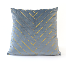 Gabrielle Cushion Cover, Light Blue