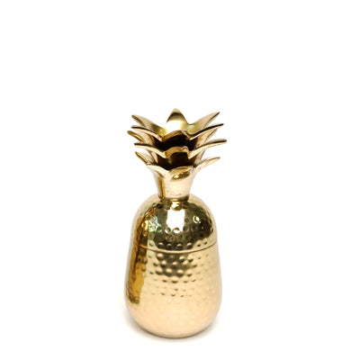 Gold Pineapple Jar Small