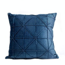 Madison Cushion Cover, Faux Suede, Royal Blue