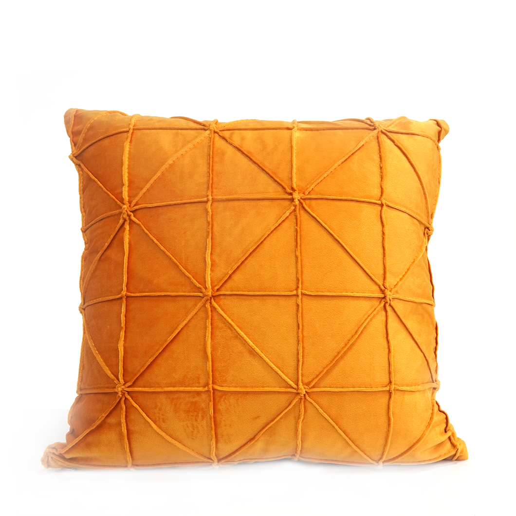 Madison Cushion Cover, Burnt Yellow