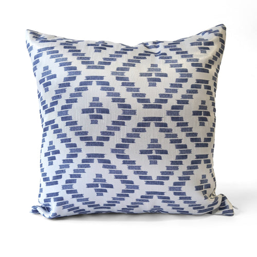 Pixel Cushion Cover, Blue