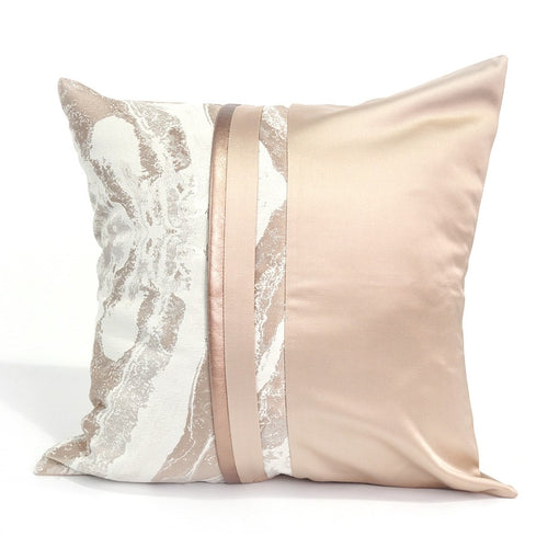 Provence Cushion Cover, Cream and Beige, 45x45cm