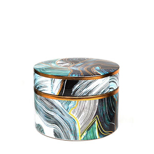 Oceano Jar, Green, Medium
