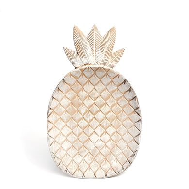 SALE! Wood Pineapple Plate